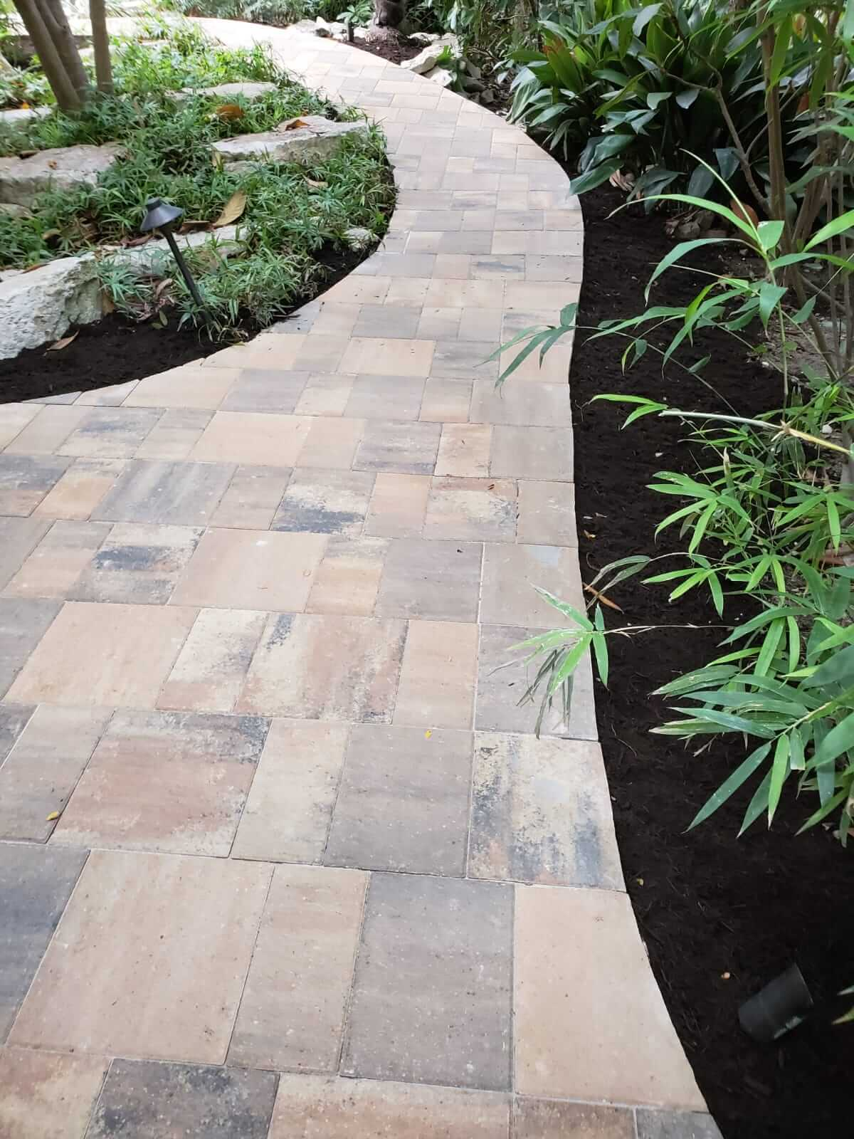 stonework - mj landscapes and construction - austin texas